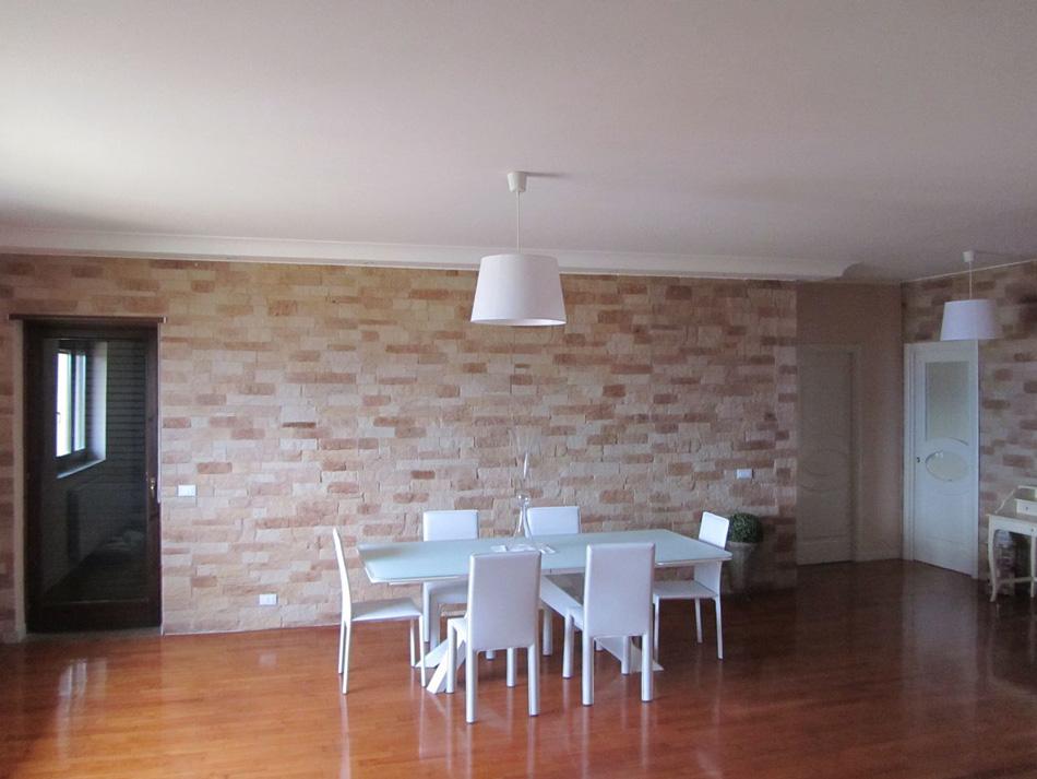 Pareti in pietra per interni design e modernit a roma for Pannelli finta pietra ikea