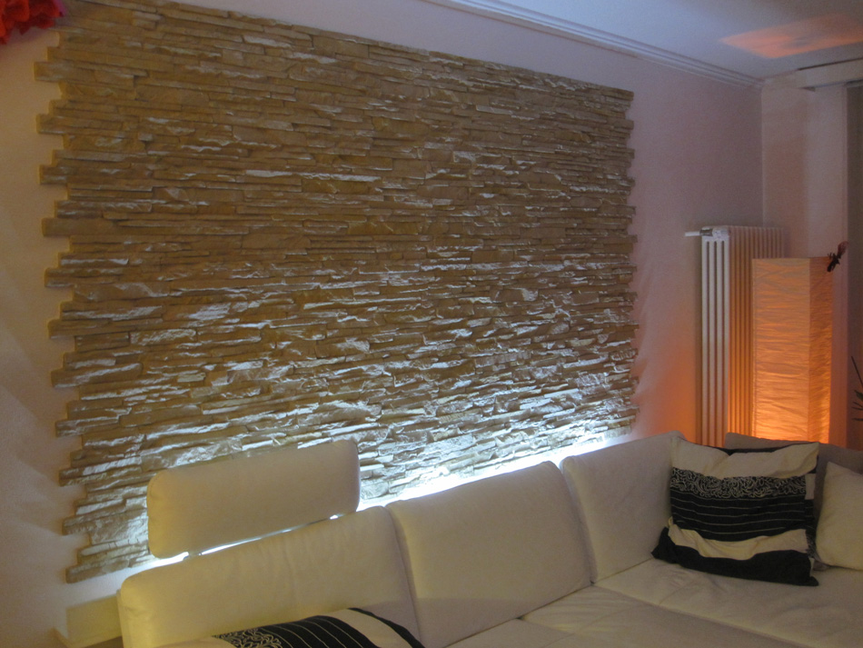Mobili Lavelli: Pannelli polistirolo soffitto finta pietra