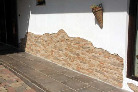 Lavori fatti da voi for Pannelli polistirolo finta pietra mattoni