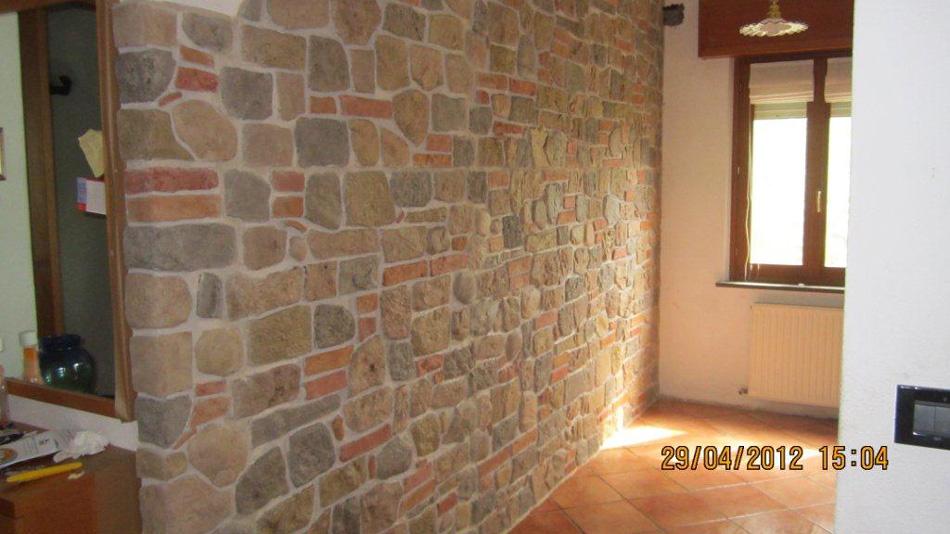 Pareti In Pietra Bianca: Pareti in pietra bianca chiudi parete curva per decorare.