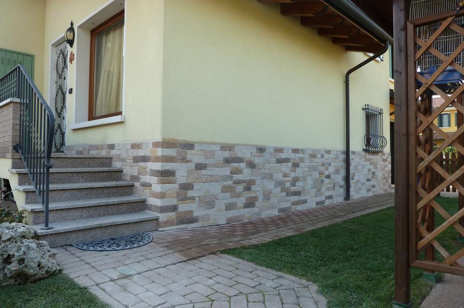 Case con rivestimento esterno in pietra design casa - Rivestimento muro interno ...